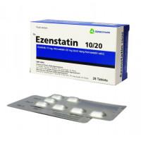 Thuốc điều trị mỡ máu Ezenstatin 10mg/20mg (4 vỉ x 7 viên/hộp)