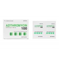 Thuốc kháng sinh Azithromycin 100mg DHG (24 gói/hộp)
