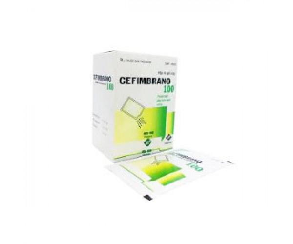 Thuốc kháng sinh Cefimbrano 100mg (10 gói/hộp)