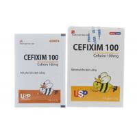 Thuốc kháng sinh Cefixim 100mg USP (10 gói/hộp)