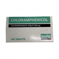 Thuốc kháng sinh Chloramphenicol 250mg Hovid (10 vỉ x 10 viên/hộp)