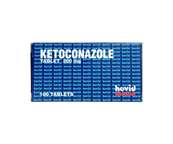 Thuốc điều trị nhiễm nấm Ketoconazole 200mg (10 vỉ x 10 viên/hộp)