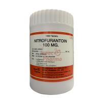Thuốc điều trị nhiễm khuẩn đường tiểu Nitrofurantoin 100mg Inpac Pharma (1000 viên/chai)