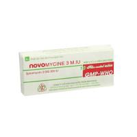 Thuốc kháng sinh Novomycine 3M.I.U (2 vỉ x 5 viên/hộp)