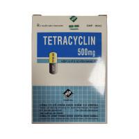Thuốc kháng sinh Tetracyclin 500mg Vidipha (10 vỉ x 10 viên/hộp)