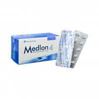 Thuốc kháng viêm Medlon 4mg (10 vỉ x 10 viên/hộp)