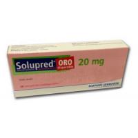 Thuốc kháng viêm Solupred 20mg (2 vỉ x 10 viên/hộp)