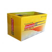 Thuốc giảm đau, kháng viêm Unimelo 7.5mg (10 vỉ x 10 viên/hộp)