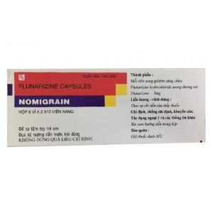 Thuốc điều trị đau nửa đầu Nomigrain 5mg (5 vỉ x 20 viên/hộp)