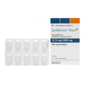 Thuốc trị bệnh đái tháo đường Jardiance Duo 12.5/1000 (3 vỉ x 10 viên/hộp)