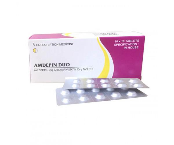 Thuốc Amdepin Duo (10 vỉ x 10 viên/hộp)