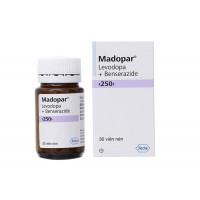 Thuốc trị Parkinson Madopar 250mg (30 viên/chai)