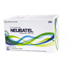 Thuốc trị động kinh Neubatel 300mg (6 vỉ x 10 viên/hộp)