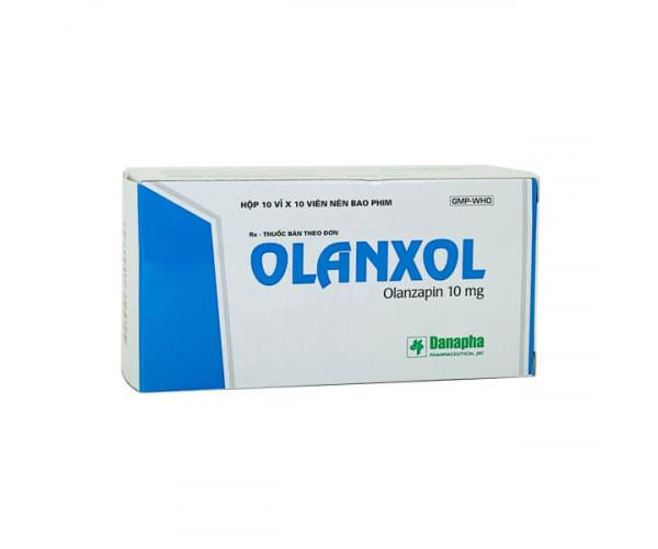 Thuốc trị động kinh Olanxol 10mg (10 vỉ x 10 viên/hộp)