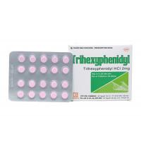 Thuốc trị Parkinson Trihexyphenidyl 2mg (5 vỉ x 20 viên/hộp)