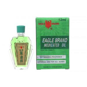 Dầu gió xanh Con Ó Eagle Singapore (12ml)