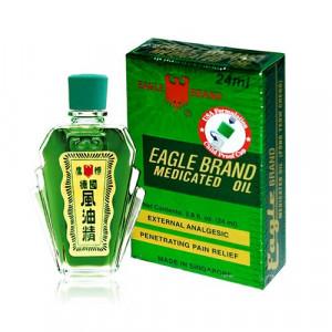 Dầu gió xanh Con Ó Eagle Brand USA Formulation (24ml)