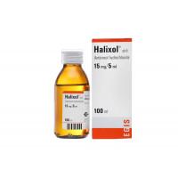 Siro tiêu đờm Halixol 15mg/5ml (100ml)