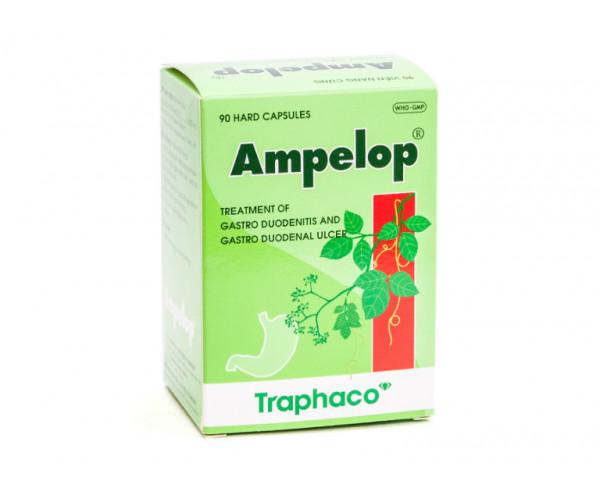 Thuốc hỗ trợ điều trị viêm loét dạ dày - hành tá tràng Ampelop