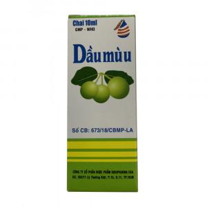 Dầu mù u Bidopharma (10ml)