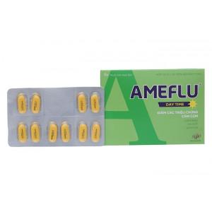 Thuốc trị cảm cúm Ameflu Daytime (10 vỉ x 10 viên/hộp)