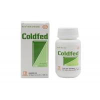 Thuốc trị cảm cúm Coldfed (80 viên/chai)