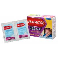 Thuốc giảm đau, hạ sốt và điều trị sổ mũi cho trẻ em Hapacol Flu 325 (24 gói/hộp)