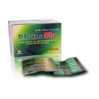 Thuốc điều trị cảm cúm cảm lạnh RhunaFlu (10 vỉ x 10 viên/hộp)