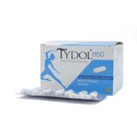 Thuốc giảm đau, hạ sốt Tydol 650mg (10 vỉ x 10 viên/hộp)
