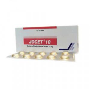 Thuốc chống dị ứng Jocet 10mg (10 vỉ x 10 viên/hộp)