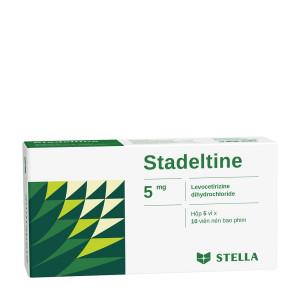 Thuốc điều trị các triệu chứng do viêm mũi dị ứng Stadeltine 5mg (5 vỉ x 10 viên/hộp)