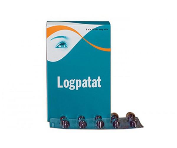 Thuốc bổ mắt Logpatat 25mg (6 vỉ x 10 viên/hộp)