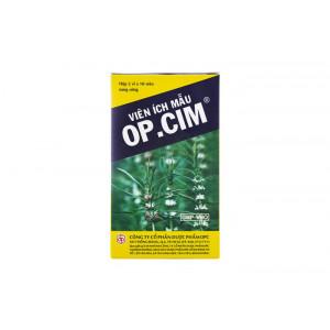 Thuốc điều hòa kinh nguyệt Viên ích mẫu OP.CIM (5 vỉ x 10 viên/hộp)