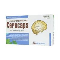 Hoạt huyết dưỡng não Cerecaps (3 vỉ x 10 viên/hộp)