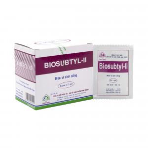 Men vi sinh Biosubtyl-II (25 gói/hộp)