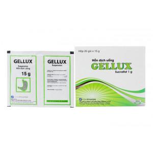 Thuốc trị loét dạ dày, tá tràng Gellux (20 gói/hộp)