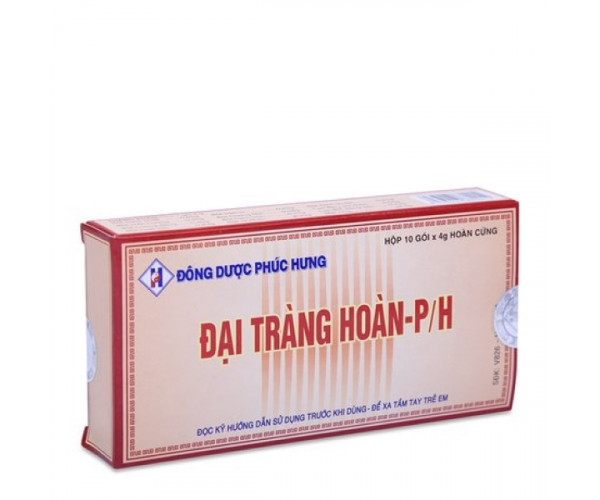 Viên uống Đại Tràng Hoàn P/H (10 gói x 4g/hộp)